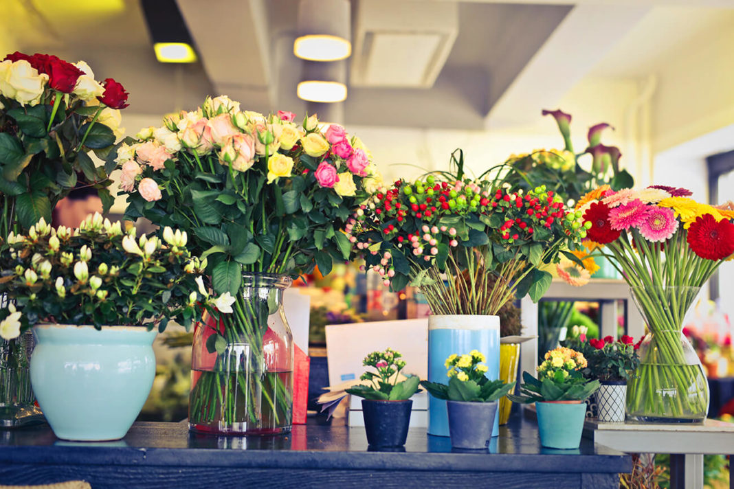 Buying Flowers from Local Retail Shops